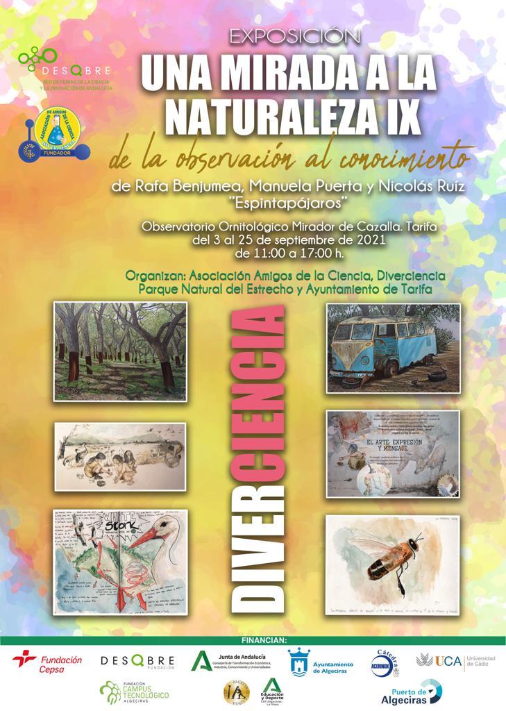Exposición en Tarifa Diarios de Naturaleza @ Observatorio de Cazalla